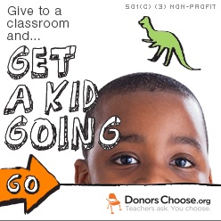DonorsChoose badge